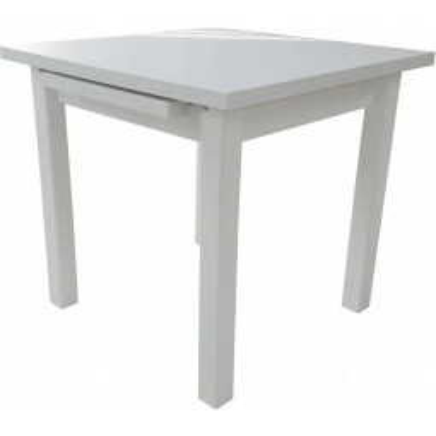 Čtvercový jídelní stůl Cleo 7 levné Rozkládací jídelní stoly z masivu