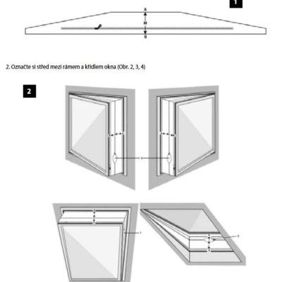 Levné Příslušenství k osvětlení: Těsnící okenní sada k Ventilátoru KV1000 / KV0800