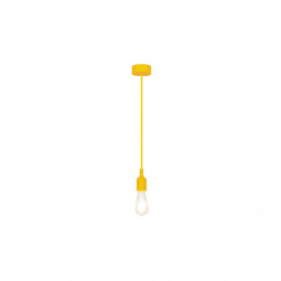 Levné Lustry a závěsná svítidla: Závěsné svítidlo ROXY, žluté