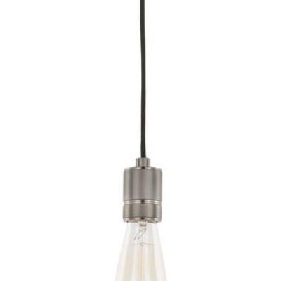 Levné Lustry a závěsná svítidla: Závěsná žárovka CASA, matná černá