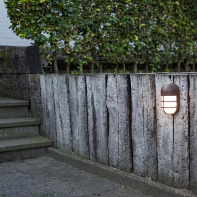 Levné Venkovní LED světla: Venkovní LED nástěnné osvětlení BULLO, 15W, teplá bílá, IP54, hnědé
