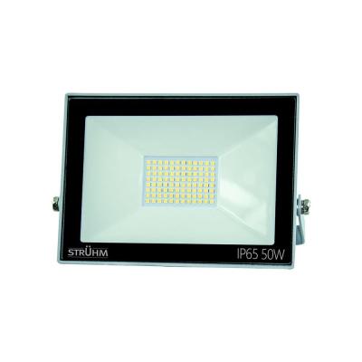 Levné Venkovní LED světla: Venkovní nástěnný reflektor KROMA LED, 50W, denní bílá, šedý, IP65
