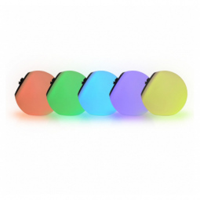 Levné Venkovní LED světla: Venkovní stolní / závěsné LED osvětlení s RGB funkcí BALl RGB RC, 1,5W, IP44