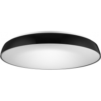 Levné Stropní svítidla: Přisazené stropní LED osvětlení CORTONA 55, 50W, denní bílá, 55cm, kulaté, černé