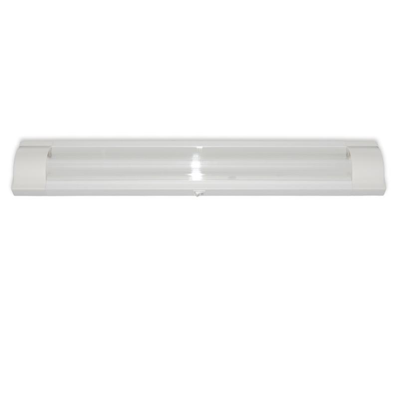 Levné LED zářivková svítidla: LED podlinkové osvětlení s vypínačem ZS T8LED 18W, 2xT8, studená bílá, 126cm
