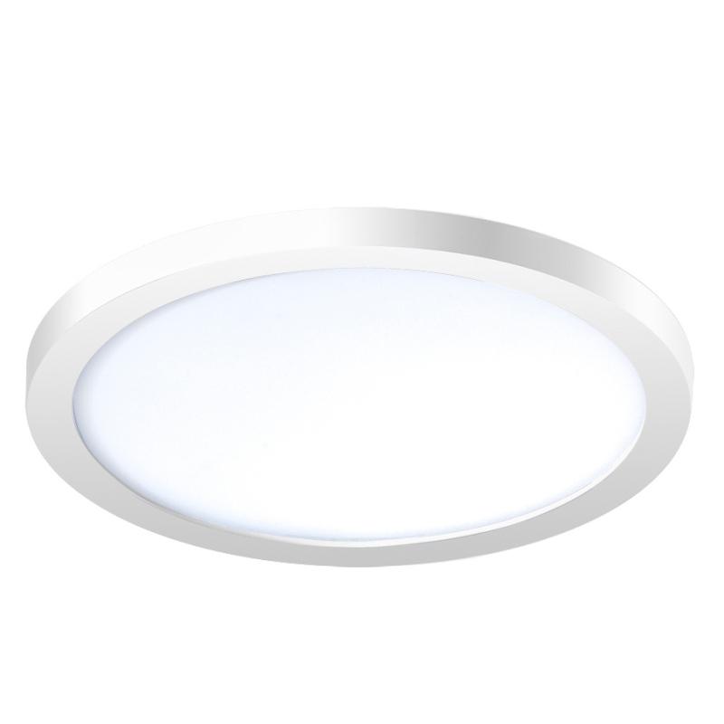 Levné Stropní svítidla: Stropní LED osvětlení do koupelny SLIM 15 ROUND, 12W, denní bílá, 14,5cm, kulaté, bílé, IP44