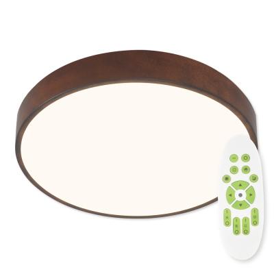 Levné Stropní svítidla: LED stropní osvětlení METAL 40CO RC, 51W, teplá bílá-studená bílá, 40cm, kulaté, corten