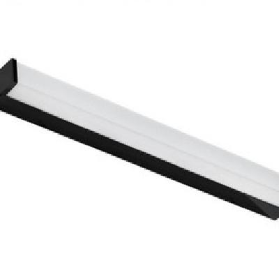 Levné Nástěnná svítidla: Nástěnné LED osvětlení nad zrcadlo PETER 90, 18W, denní bílá, 90cm, černé, IP44