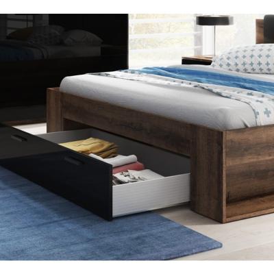 Levné Manželské postele: Postel s úložným prostorem 180x200 cm Marianna