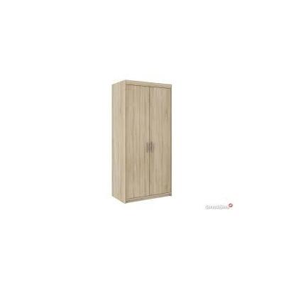 Levné Skříně do ložnice: Šatní skříň Rikard 2D DUB SONOMA
