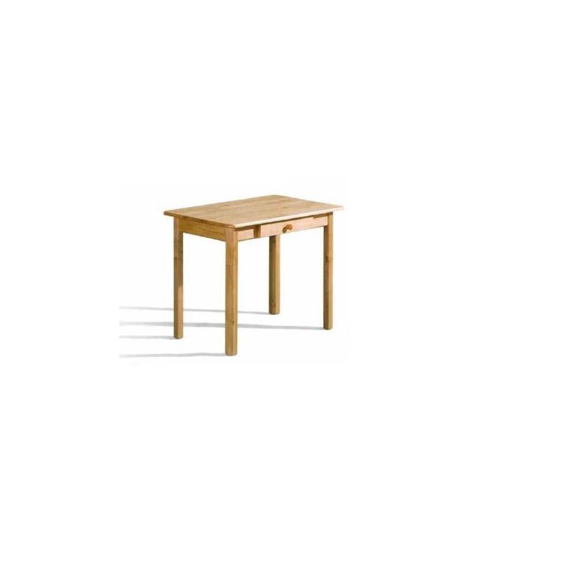 Levné Jídelní stoly z masivu: Jídelní stůl se zásuvkou Märit