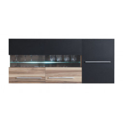 Levné Prosklené skříně a vitríny: Závěsná vitrína - Marillac 10