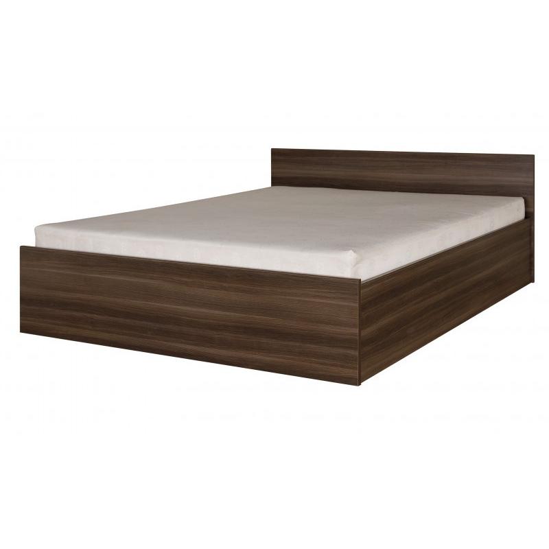 Levné Manželské postele z lamina: Postel s matrací 160/200 cm Ottone 23m