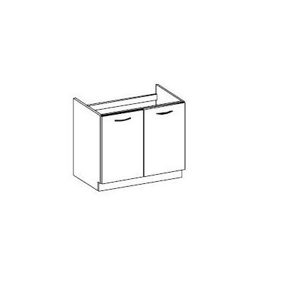 Levné Dřezové skříňky do kuchyně: Spodní dřezová skříňka 80cm. GRÉTA