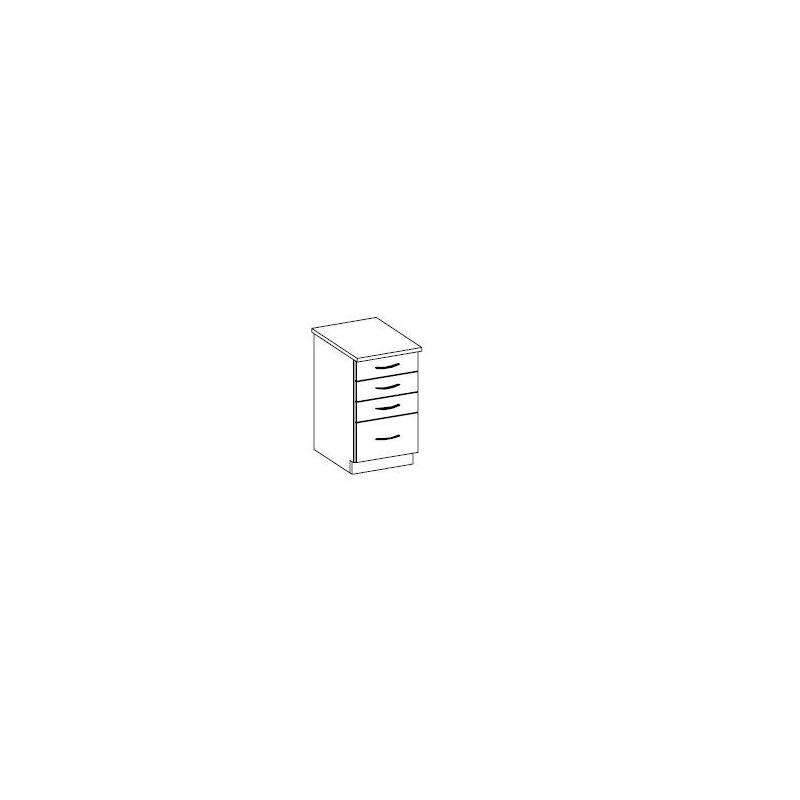 Levné Dolní skříňky do kuchyňské linky: Spodní zásuvková 40cm. GRÉTA
