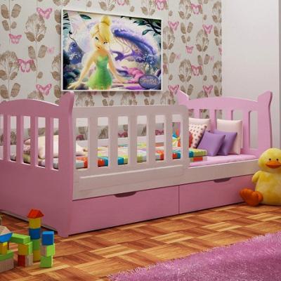 Levné Dětské postele: Dětská postel pro holčičku Andre