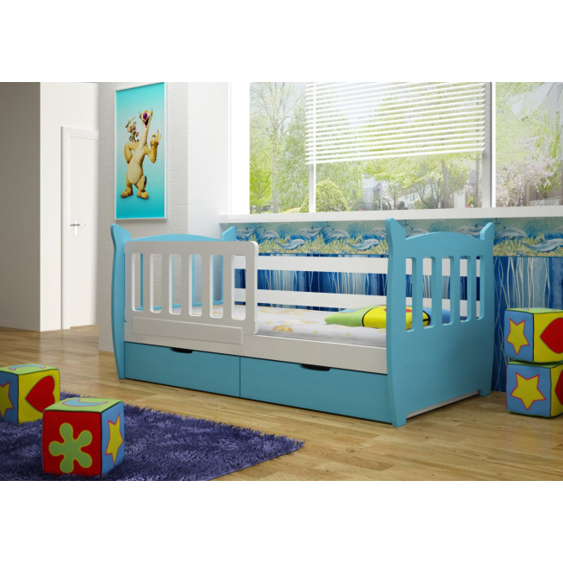Levné Dětské postele s úložným prostorem: Dětská postel chlapečka Ellinor