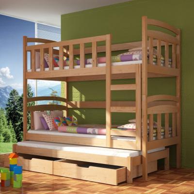 Levné Patrové postele a palandy: Patrová postel DAMIJEN