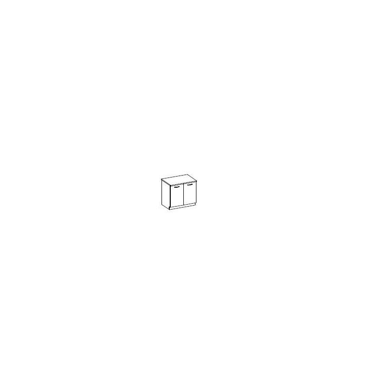 Levné Dolní skříňky do kuchyňské linky: Spodní skříňka 80cm. Verner