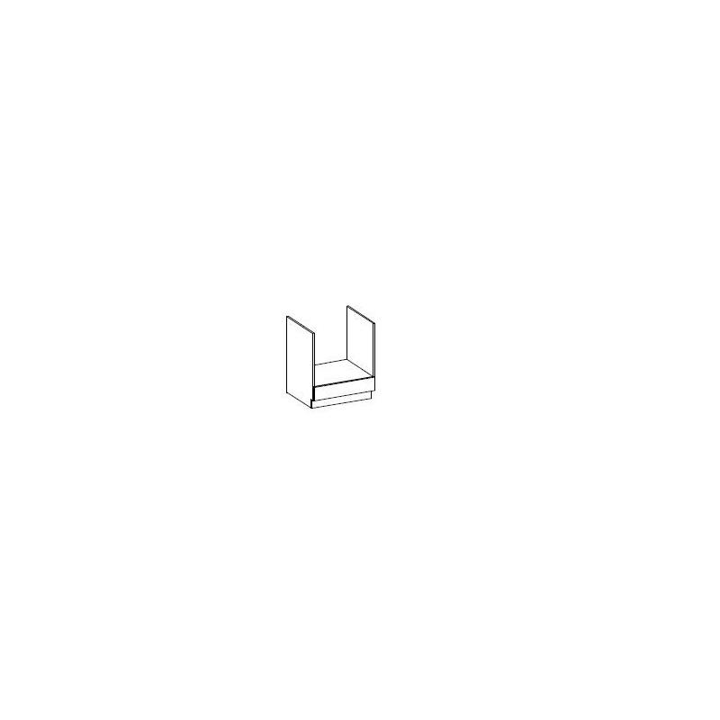 Levné Dolní kuchyňské skříňky: Skříňka na kamna 60cm. Bernhard