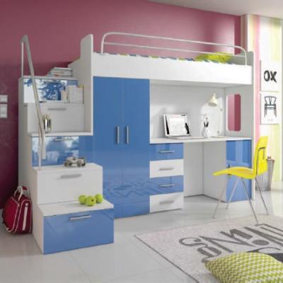 Levné Dětské pokoje: Dětský pokoj Marianne 4, postel s matrací