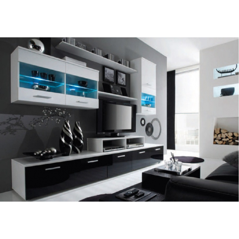 Levné Moderní obývací stěny: Obývací stěna BETTY