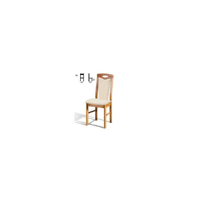 Levné Jídelní židle z masivu: Čalouněná jídelní židle Gerhard