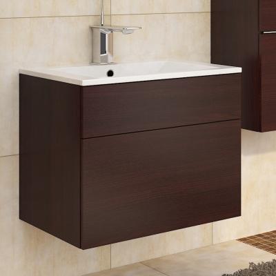 Levné Dolní koupelnové skříňky: Skříňka pod umyvadlo Ippolito wenge