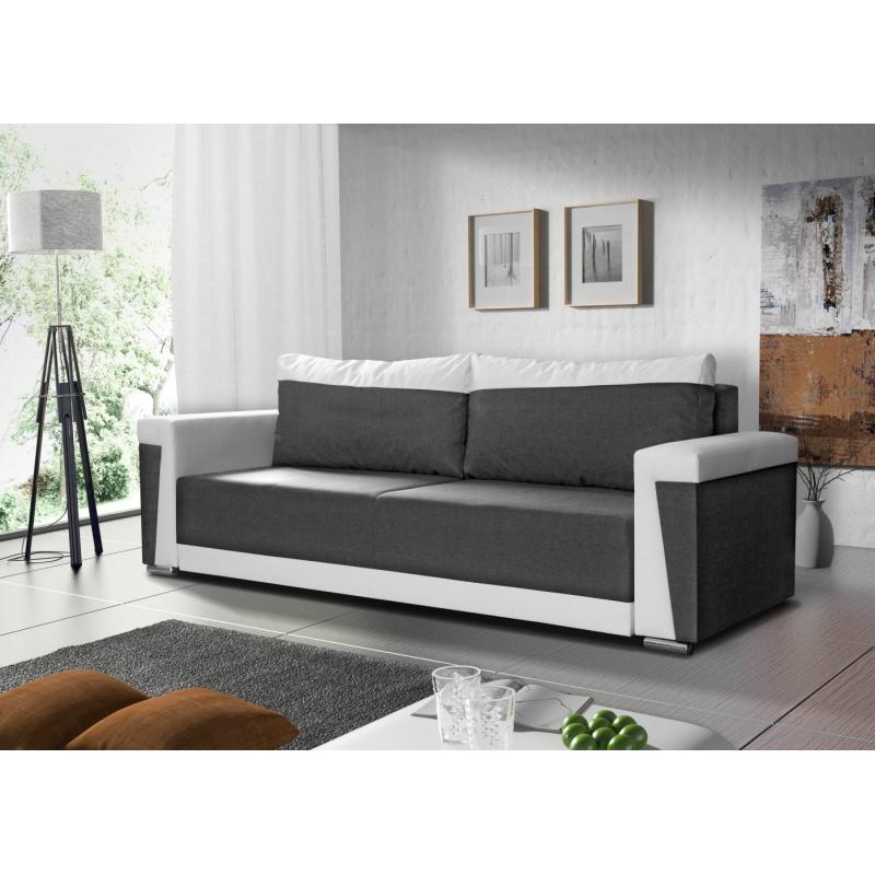 Levné Pohovky s úložným prostorem: Moderní rozkládací pohovka Roberto 05