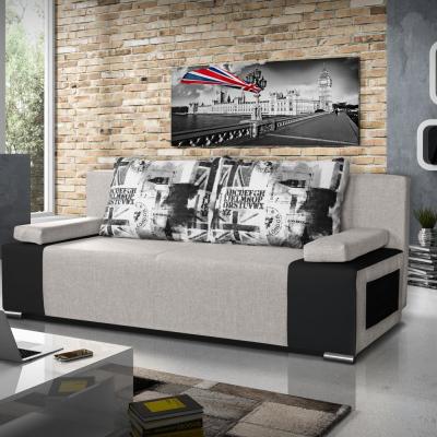 Levné Pohovky s úložným prostorem: Designová rozkládací pohovka Borghesi 01