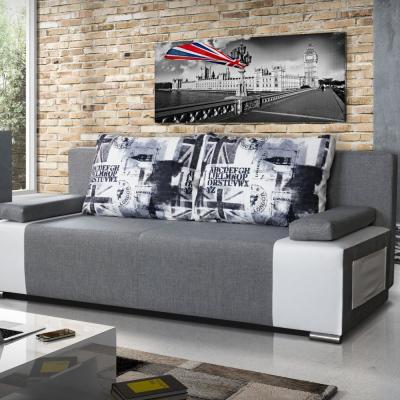 Levné Pohovky s úložným prostorem: Designová rozkládací pohovka Borghesi 21