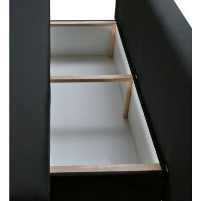 Levné Rozkládací pohovky: Moderní rozkládací pohovka s taburetem Giovanni