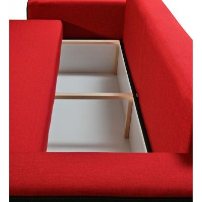 Levné Rozkládací pohovky: Stylová rozkládací pohovka s úložným prostorem Pietro B