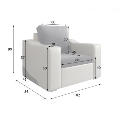 Levné Rohové sedací soupravy: Stylová sedací souprava Rosalia s úložným prostorem