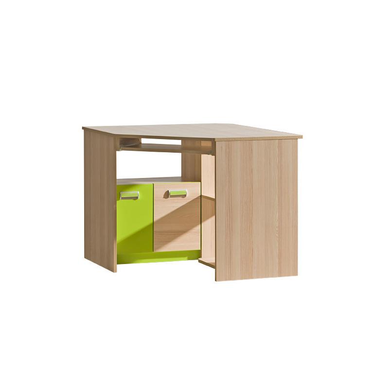 Levné PC stolky do dětského pokoje: Rohový počítačový stůl pro děti Dave 2