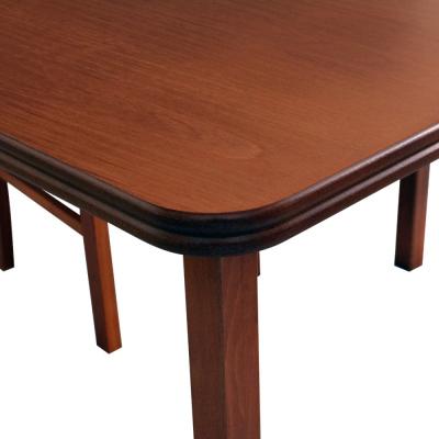 Levné Rozkládací jídelní stoly z masivu: Klasický jídelní stůl Cleo 4 z přírodních materiálů
