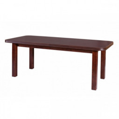 Levné Rozkládací jídelní stoly z lamina: Rozkládací stůl Christopher 9 s dýhovanou jídelní deskou