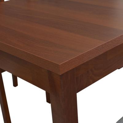 Rozkládací jídelní stůl Brad s bukovou konstrukcí a odolnou deskou ...