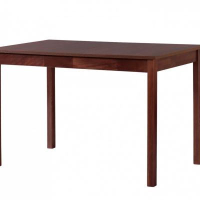 Levné Jídelní stoly z masivu: Dřevěný jídelní stůl Cleo 2 s odolnou deskou z lamina