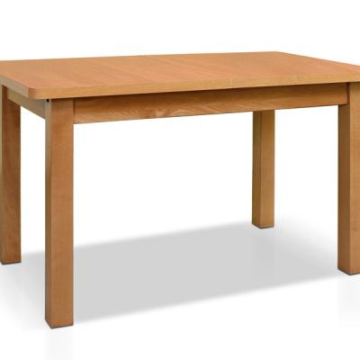 Levné Rozkládací jídelní stoly z lamina: Jídelní obdélníkový stůl Pedro s přídavnou deskou