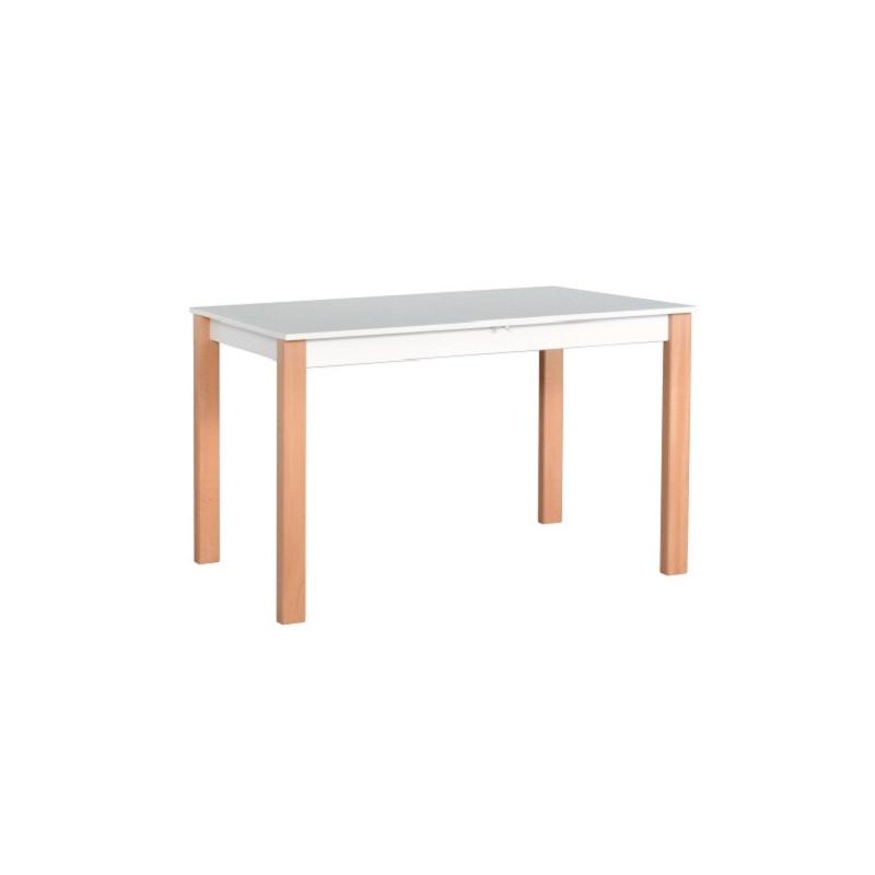 Levné Jídelní stoly: Jídelní stůl bílý Igor 2