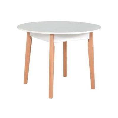 Levné Jídelní stoly: Kulatý jídelní stůl APACHE 2