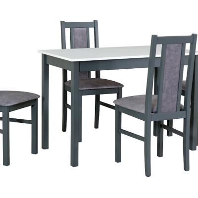Levné Moderní jídelní sety: Stylový jídelní set 4+1 Kerttu