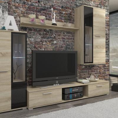 Levné Obývací stěny: Moderní levná obývací stěna Raita 1
