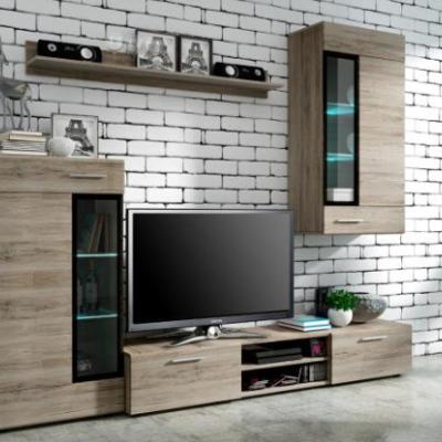 Levné Obývací stěny: Stěna do obývacího pokoje ESY 2