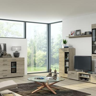 Levné Obývací sestavy: Sektorový nábytek do obýváku ESY