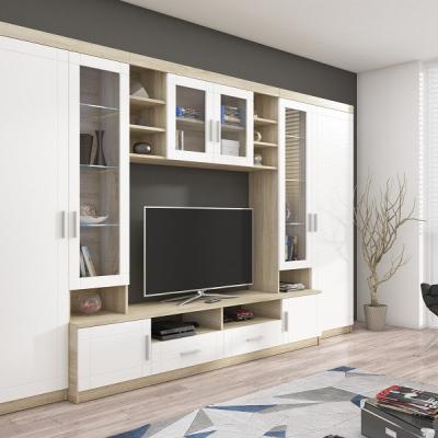 Levné Obývací stěny: Stylová obývací stěna YTERO 1