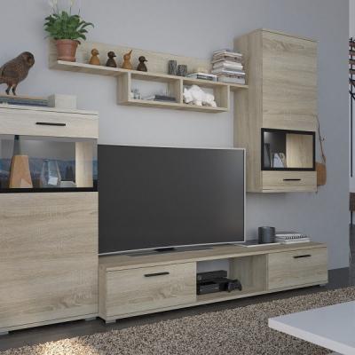 Levné Obývací stěny: Stěna do obývacího pokoje ROSA