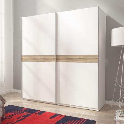 Levné Šatní skříně s posuvnými dveřmi: Šatní skříň do ložnice Kristl 6a