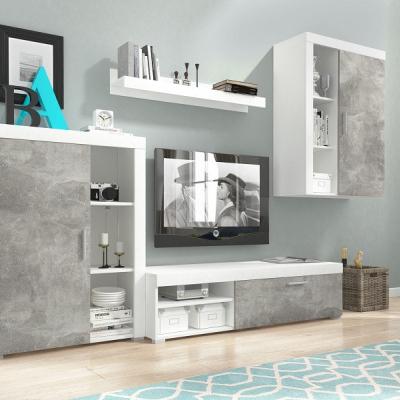 Levné Obývací stěny: Moderní obývací stěna OLAVI 1